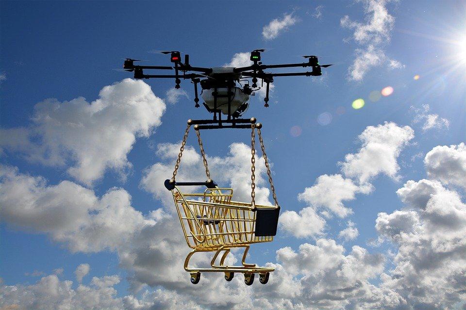 Entregas en menos de 30 minutos, entregas con drones