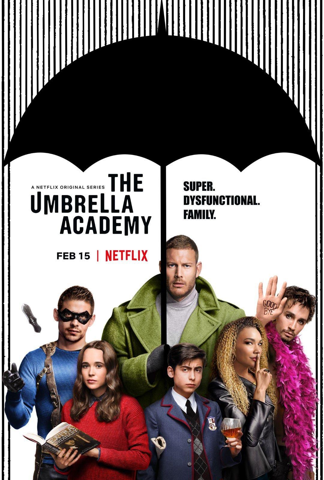 Una mirada a The Umbrella Academy de Netflix, acción y música pop de principio a fin