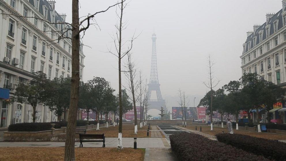ciudades falsas en china paris