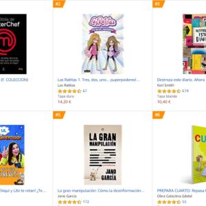 Los libros más vendidos en Amazon – Julio