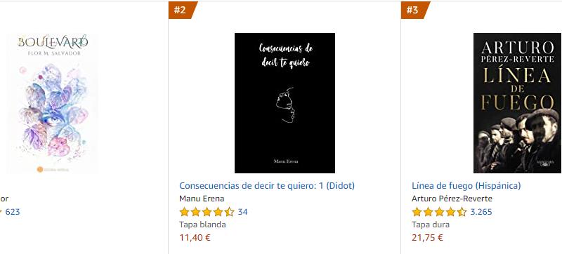 Los libros más vendidos en Amazon – Abril 2021